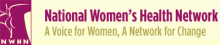 National Women's Health Network Logo